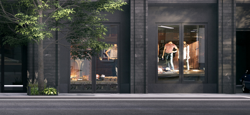 Nycspaces Com Beautifully Built Boutique Chelsea Store